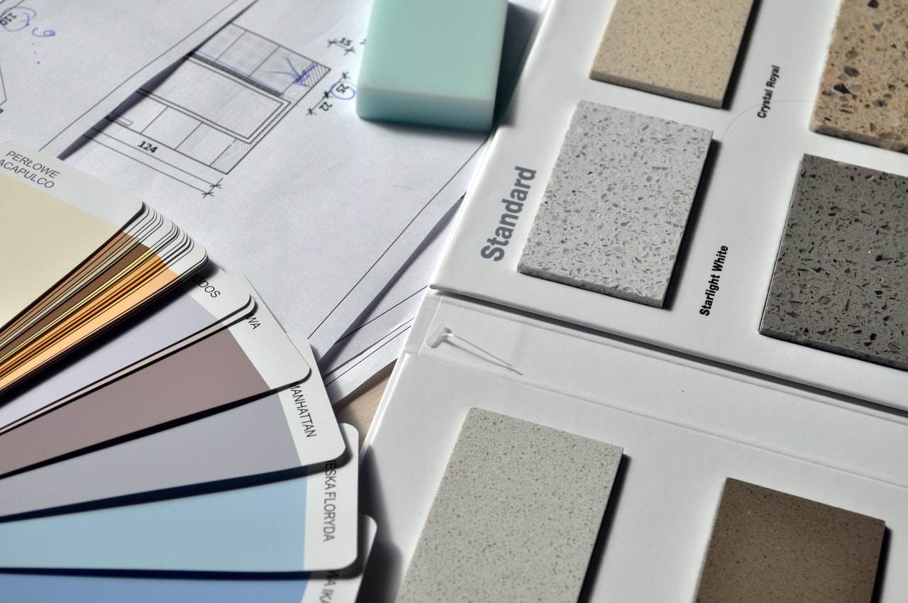 swatches of materials